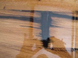 שולחן מעץ אגוז אפריקאי